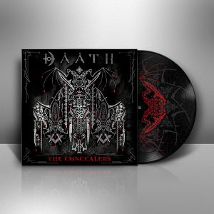 DAATH 1 Cover Vinyl Mockup White Side A