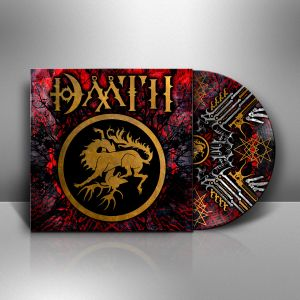 DAATH 2 Cover Vinyl Mockup White Side A